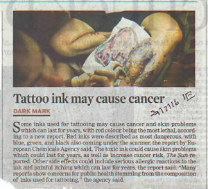 tattoo ink may