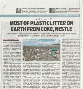 most of plastic litter on earth from coke, nestle_20191025_0001